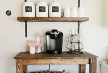 our coffee corner