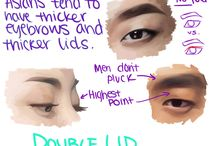 how draw eyes