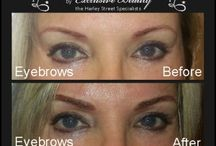 Permanent and Semi Permanent Eyebrows / This board will have the images of permanent and semi permanent make up for eye brows.