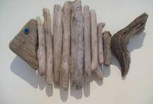 Κατασκευές με ξυλα θαλασσας