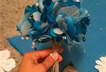 Fabric & Paper Flowers / New creative ways to make flowers of all kinds. / by Sherl Louis
