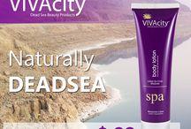 VIVAcity Dead Sea Product / Dead Sea Bath  Dead Sea Mud  Dead Sea Soap  Dead Sea Scrub / by VIVAcity Dead-Sea