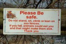 Αστείες.......ταμπέλες!!!!!!!
