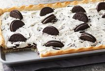 Oreo cookie bake