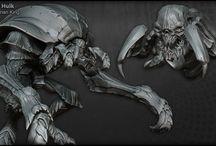 Monster & Demons / Art of creatures