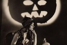 Holiday Board - Halloween / Imagery and items from the past or influenced by past Halloween traditions and stories.