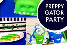 Preppy Gator Party