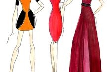Fashion croquis / Desenho de moda