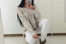 fashion teenage selfie