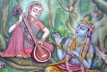 ILLUSTRATION: Krishna's world / Illustrations I made for books on Krishna consciousness subject.