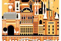 ברצלונה למיסגור | Icons of Barcelona / תמונות, עבודות גרפיות  ואייקונים של ברצלונה