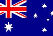 AUSTRALIA.  cap. Canberra / PAIS.  Idioma oficial: Ingles