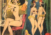 Niso Ramponi / #NisoRamponi aka #Kremos, another #Italian #retro #vintage #pinup #cartoonist.