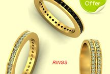 Gold Rings / http://zomint.com/jewellery/gold-jewellery/rings.html- Made with Love, Priced with Honesty. Grab our gold ring collection that will endure forever. #zomint #rings #gifts