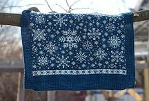 Designs av Ann Myhre / Vogntepper og sjal