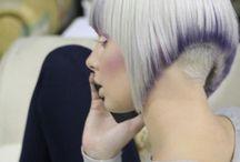 Naisten lyhyet hiusmallit