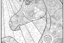 majestic horses coloring pages