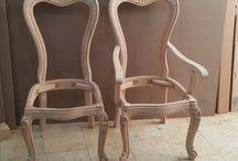 oymalı sandalye
