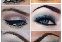 Olhos dês maquiagem