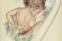 Children in tubs / I just want to eat them up