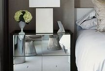 Nightstands / Nightstands handcrafted by the designers at Powell & Bonnell.