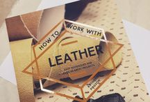 How to Work with Leather / A book by our founder, Katherine Pogson with over 20 practical projects, including handbags, purses, boxes, jewellery and more. Published by Collins and Brown, August 2016. Full of patterns, suppliers and technical tips, this is a reissue of Complete Leatherwork from 2009.