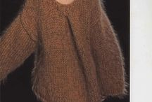 Mohair truien