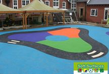 Wet Pour Safety Surface