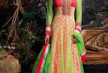Exhibit #Anarkali #Salwar Kameez / Indian women wear anarkali suits on various other occasions as well such as traditional festivals,casual lunch, anniversary celebrations etc.