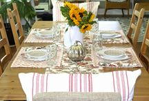 My Fall Tablescape~Laura Leigh Designs