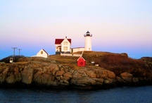 Nubble Lighthouse© - by Jonathan Burns / Lots of interest from people on the Nubble Lighthouse so I decided to create a board just for it.  I will upload pictures of the Nubble at different times throughout the year.