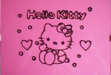 Hello Kitty Pink / by Disegni su vetro