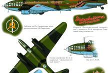 Ilyushin airplanes