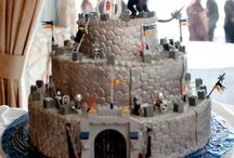 Castle Cake (Good/Evil)