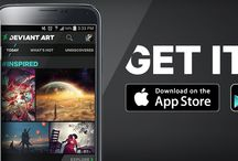 DeviantArt Mobile App / DeviantArt Mobile App: The world's largest art gallery in your hand! Get it now: DeviantArt.com/mobile / by DeviantArt