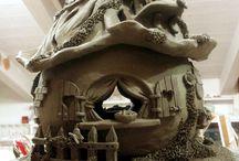 clay  ELFENHUISJES