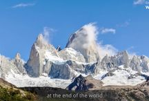 El Chalten, Patagonia Argentina / El Chalten Patagonia  is the gateway to access the other side of Los Glaciares National Park and is home to views, valleys, glaciers and momentous hikes that rival other areas in Patagonia.