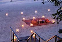 Romantic picnic idea