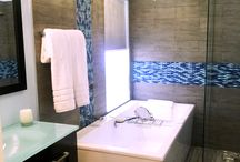 Bathroom Remodel and Ideas / Inspiring bathroom ideas great for remodeling. Backsplash, wall tile, floor tile, pool and spas.