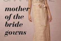 champagne gowns for mother of the bride