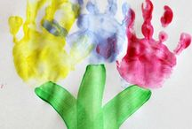 dětské tvoření květinky jaro spring