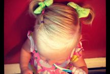 Girl/toddler hair styles