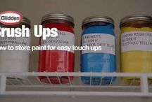 How To Videos / Get tips to save time and money, and learn how to use paint to transform household items in a few simple steps. Low cost. Big Impact. That's the smarter way to wow. / by Glidden Paint