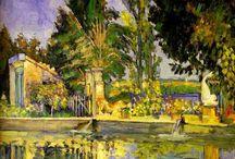 Cezanne i paesaggi