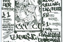 Scotlands 1st Graffiti Magazine, Nov 1989