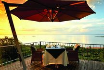 Bumi Hills Safari Lodge - Kariba / Bumi Hills Safari Lodge is situated on top of a hill approximately 55km south west of Kariba town. With the Zambezi escarpment as its backdrop, the well-known Bumi Hills Safari Lodge overlooks the foreshore below and the vastness of Lake Kariba. http://www.zimbabwebookers.com