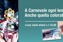 Contact Lenses / Giornaliere, bisettimanali, mensili, colorate e fantasy per carnevale ed halloween....!!!!