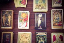 Tarot / Tarot card spreads, decks, and more