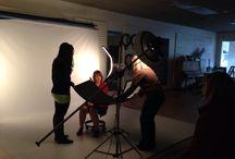 Scene - In Studio / Daily studio scenes ranging from behind the scenes to studio sets