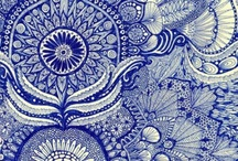 Blue & White Everywhere